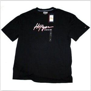 Tommy Hilfiger Denim Short Sleeve Embroidered Shir